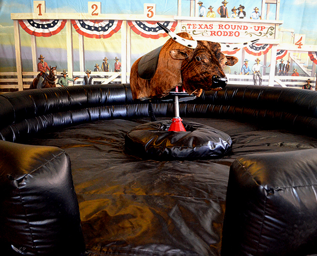 bull ride machine for rental